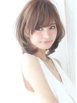 【alice by afloat浅井】大人かわいい小顔内巻きひし形ミディ