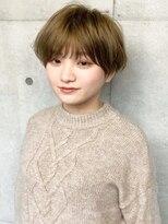 ツミキ ヘアーデザイン(TSUMIKI hair design)21SS マニッシュショート
