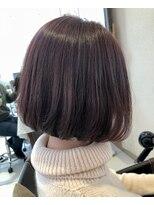 リコ ヘアアンドリラクゼーション(LICO HAIR&RELAXATION)【LICO】重めスタイル 前下がりボブ