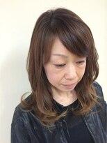 桜デコ(DECO)オトナ女性におすすめカラーカット