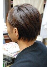 ヘアドクター ディービー 渋谷店(HAIR DOCTOR DB)メンズのストレートはナチュラルに 《ヘアドクターDB》