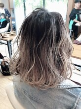 ベルポートヘア(Bellport hair)☆外国人風ハイトーングラデーション☆