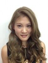 ヘアーアンドメイク ポッシュ 根岸店(HAIR&MAKE POSH)外国人風スモーキーアッシュカラー
