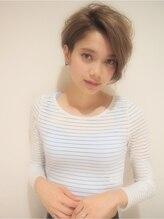 ヘアーサロン ノーヴェトウキョウ(Hair Salon Nove Tokyo)<Nove>大人ハイライト×ヌーディショート