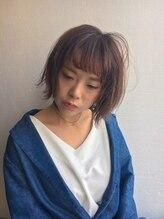 ミニム ヘアー(minim hair)☆春トレンドのブルピ&つくりこみすぎない重軽ボブ☆