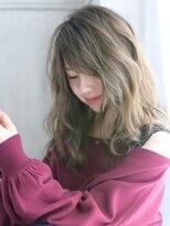 ヘアアンドメイク アリス(hair&make ALICE produce by COLT)ミディアム×グラデーションカラー