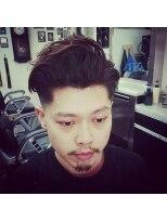 ヘアーサロン ファイン(Hair Salon FINE)skinfade×外国人風パーマ