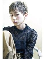 【UniQ・小笹】ダブルカラー×こなれアッシュ×ベリーショート
