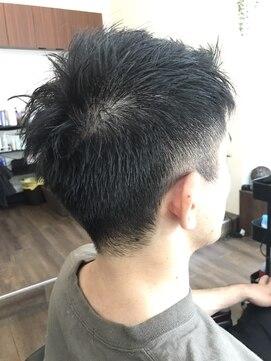 リル 阪神尼崎(LiL')イメチェン刈り上げツーブロックネープレス