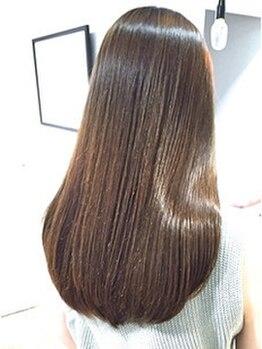 カチーナ 三軒茶屋(CACHINA)の写真/【カット+カラー+TOKIOトリートメント¥10000】毛髪強度回復効果のあるTOKIOトリートメントで美髪が叶う☆