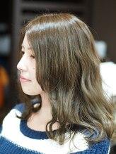 ソラ ヘアデザイン 別府店(Sora Hair Design)アッシュベージュ7.5で明るすぎず暗すぎず色感とつや増し増し