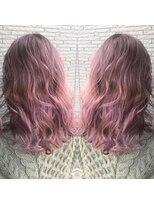 ヘアアンドビューティー クローバー(Hair&Beauty Clover)purple