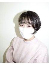 モードクラウド(MODE CLOUD hair design)インナーカラーでお洒落ショートに☆