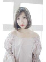 ルーシー 新宿(Lucy)【Lucy 新宿】3Dカラージグザグバング透明感カラー