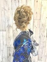 ヘアースペース ムーン(Hair Space MOON)ゆかたの着付けとヘアセットは岡山表町のヘアースペースムーンへ