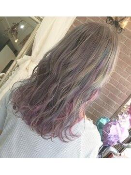アリス ヘア デザイン(Alice Hair Design) ユニコーンカラー