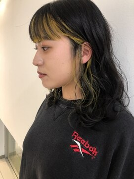 オリジン サロン(THE ORIGIN'S SALON)顔まわりに☆オシャレインナーカラー