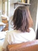 ノエル ヘアー アトリエ(Noele hair atelier)THROWアッシュ×愛されミディ