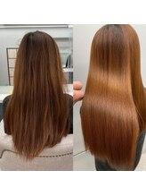 当店の髪質改善はココが違う!!話題の髪質改善トリートメント♪