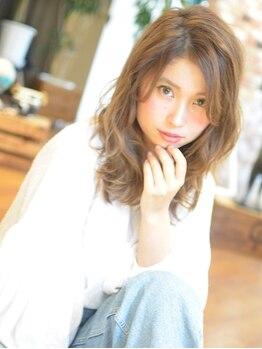 マービー 南浦和(mavie)の写真/【南浦和駅/徒歩3分】[カット+再現性パーマ¥7980~]カットが違うとパーマの仕上りも違う!楽に可愛くなれる!