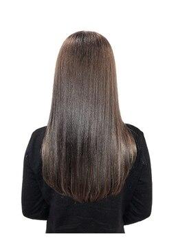 イーエムエー プレミアムビューティーサロン 栄店(e.m.a PREMIUM BEAUTY SALON)の写真/柔らかく、自然な仕上がりに感動。ダメージレスで毎朝のスタイリングも時間短縮◎お手入れ簡単な美髪に♪