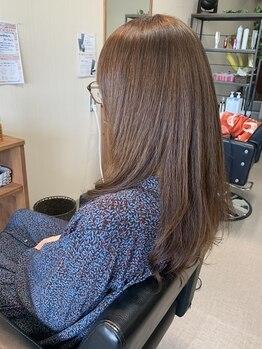 ヘアーバズール(hair Buzl)の写真/縮毛矯正+デジタルパーマの施術が可能!従来難しいとされてきた施術が【hair Buzl】で叶う☆