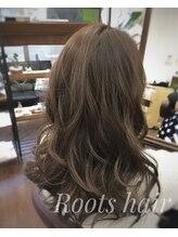 ルーツ ヘアー(Roots hair)ゆるふわ巻き髪