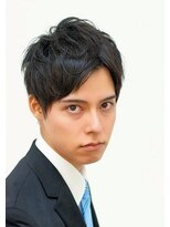 アクロスビズスタイル(AKROS BIZ STYLE)【AKROS】ソフトアップバングジェントリーマッシュ!!!