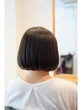 ヘアーワークス アンソル(hair works &SOL)お手入れらくらくうる艶ボブ