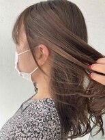 サラ ビューティー サイト 古賀店(SARA Beauty Sight)ベージュイヤリングカラー