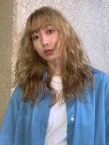 ブロック ジャポン(bloc japon)loose wave × blonde beige