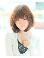 アクシー ヘアーアンドメイク(AXY HAIR&MAKE)【新宿AXY】ソフトシフォンボブ