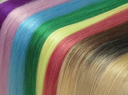 マーメイドヘアー(mermaid hair)の写真