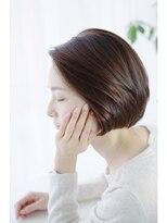 《eTONe》自然な毛流れヘルシーボブ