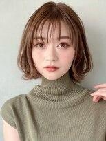 エアリーミディ♪ショートパーマ小顔・黒髪デジタルパーマ※時田