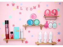 ヘアエクステンションサロン キュッキュ 鹿児島店(Q9)の雰囲気(ピンクのお部屋♪)