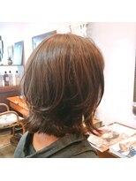 ミーノ(mieno)【髪質改善】お手入れ簡単◎ウル艶髪とカールで上品な印象に♪