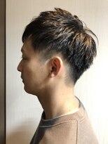 ブーン ヘアーメイク(Hair Make Boon)メンズ×束感ツーブロック