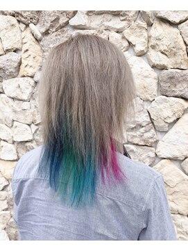 ヘアー リッツ 武豊店(Hair Ritz)メンズインナーカラー