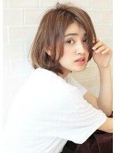 アグ ヘアー ムーン 大阪深井店(Agu hair moon)《Agu hair》30代40代大人かわいいナチュラルボブ