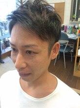 ヘアーメイク ヤマカワ(HAIR MAKE YAMAKAWA)2block natural cut (男前)