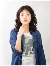 アース 草加店(HAIR&MAKE EARTH)暗髪カジュアルミディ【EARTH草加店】