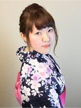 アイディアルヘアー ボニート(idealhair bonito)三つ編みローポイントアップスタイル その2