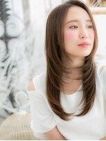 ■mod's越谷10-11★■大人かわいい♪好感華やぎ小顔ストレート