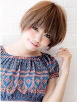 アグ ヘアー ロッソ 福島店(Agu hair rosso)《Agu hair》王道かわいい小顔ショート