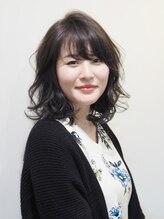 """ヘアーメイク プティ(hair make Petite)外はねゆるふわミディ """"武蔵小山・プティ"""""""""""