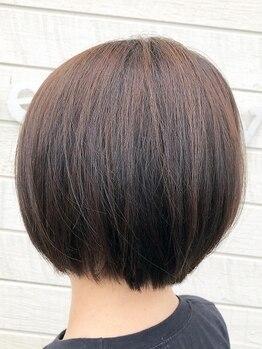 """ディルガ開発店(DILGA)の写真/年齢と共に気になる""""白髪""""!!白髪染めなのに重くなりすぎず、[エアリー×ツヤ]のあるキレイな女性を造る♪"""