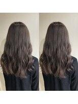 ビーヘアサロン(Beee hair salon)低刺激、ダメージレスで作るグレージュカラー☆渡部雅己