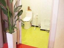 ムーブ ル リアン(MOOB Le Lien)の雰囲気(広々としたバリアフリーのトイレ完備。)
