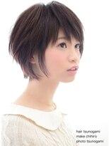 ヘアーアンドメイクキュアー アトリエ(hair&make cure atelier)大人ショート